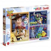 Puzzle 3x48 peças Toy Story