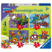Puzzle 4 em 1 Superzings