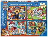 Puzzle 4x42 peças Patrulha Pata