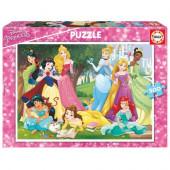 Puzzle 500 pç Princesas Disney