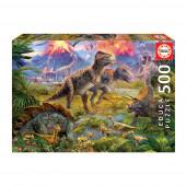 Puzzle 500 peças Dinossauros