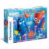 Puzzle 60 peças Procurando a Dory Disney