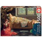 Puzzle A Bela Adormecida John Collier 1500 peças