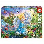 Puzzle A Princesa e O Unicórnio 1000 peças