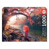 Puzzle Amanhecer no Rio Katsura 1000 peças