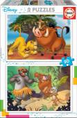 Puzzle Animais Disney 2x20 peças