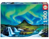 Puzzle Aurora Boreal Islândia 1500 peças