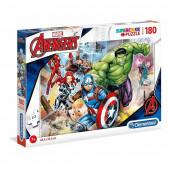 Puzzle Avengers 180 peças Supercolor