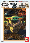 Puzzle Baby Yoda Star Wars The Mandalorian 1000 peças