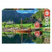 Puzzle Barco Viking 1500 peças