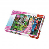 Puzzle Bela Adormecida Princesa Disney 200 peças