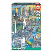 Puzzle Berlim City 200 peças