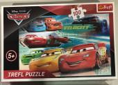 Puzzle Carros 3 Velocidade 100pcs