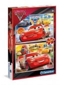 Puzzle Cars 3 2x20 peças