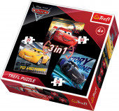 Puzzle Cars 3 em 1