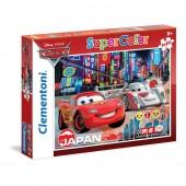 Puzzle Cars Mc Queen Disney London 2x20pz