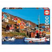 Puzzle Casas Nórdicas 1000 peças