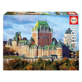 Puzzle Castillo de Frontenac Canadá 1000 peças