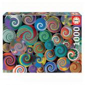 Puzzle Cestas Africanas 1000 peças