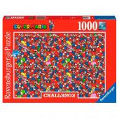 Puzzle Challenge Super Mario Nintendo 1000 peças
