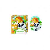 Puzzle Chão Panda 24pç