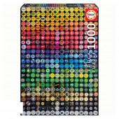 Puzzle Colagem de Chapas 1000 peças