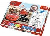 Puzzle Color 40 Pcs - Carros no deserto - Cars 2
