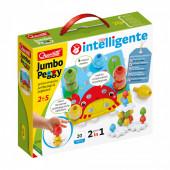Puzzle Construção Jumbo Peggy 20 peças Quercetti