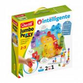 Puzzle Construção Jumbo Peggy 45 peças Quercetti