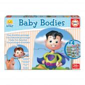 Puzzle corpo do bebé