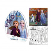 Puzzle de Colorir Frozen 2 42 peças