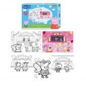 Puzzle de Colorir Porquinha Peppa 24 peças