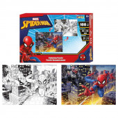 Puzzle de Colorir Spiderman 100 peças