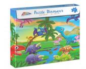 Puzzle Dinossauros 96 peças