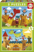 Puzzle Dragões e Cavaleiros 2x20 peças