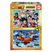 Puzzle Dragon Ball 2x100 peças