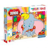 Puzzle Dumbo 104 peças