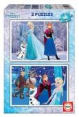 Puzzle Duplo Frozen 2x48