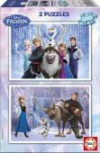 Puzzle Duplo Frozen Olaf 2 x100