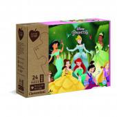 Puzzle Ecológico Maxi Princesas Disney 24 peças