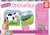 Puzzle Educa Baby Opostos