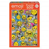 Puzzle Emoji Grafitti 500 peças