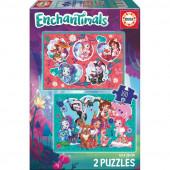 Puzzle Enchantimals 2x100