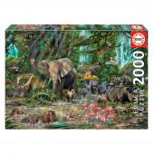 Puzzle Enigma da Selva Africana 2000 pcs