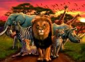 Puzzle Esplendor Africano