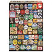 Puzzle Etiquetas de Cerveja 1500 peças