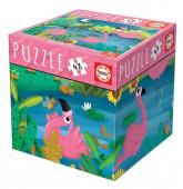 Puzzle Flamingos 48 peças