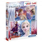 Puzzle Frozen 2 Disney 2x60 peças