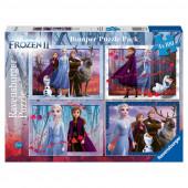 Puzzle Frozen 2 Disney 4x100 peças