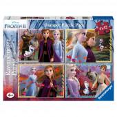 Puzzle Frozen 2 Disney 4x42 peças